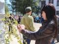 Продолжаются акции «Дерево Победы» и «Георгиевская ленточка»