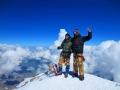 5 Западная вершина Эльбруса, 5642 метра над уровнем моря