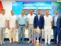 церемония жеребьевки чемпионата Премьер-лиги КФС сезона 2016/17 годов
