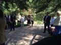 торжественное возложение цветов к могиле Георгия Федоровича Морозова