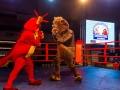 Матчевая встреча по боксу между сборными командами Пекина и Крыма