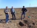 Отбор проб почвы