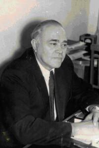 профессор Крымского медицинского института Борис Павлович Хватов.
