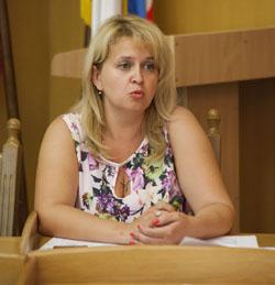 начальник Управления развития образования КФУ Наталья Кармазина