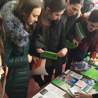 В Евпатории прошла Ярмарка учебных мест