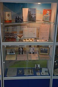 Выставка «Преподаватели и студенты нашего вуза – участники Великой Отечественной войны»
