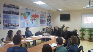 Героическое и трагическое в истории Крыма: круглый стол в департаменте международной деятельности