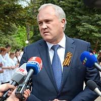 Поздравление ректора КФУ Сергея Донича с 9 мая!