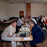 Работники МА КФУ стали первыми в турнире по шашкам