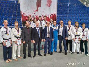 Студенты КФУ - победители и призеры Всероссийских соревнований среди студентов по тхэквондо