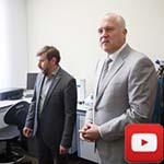Сергей Донич посетил Инжиниринговый центр по исследованию строительных материалов КФУ